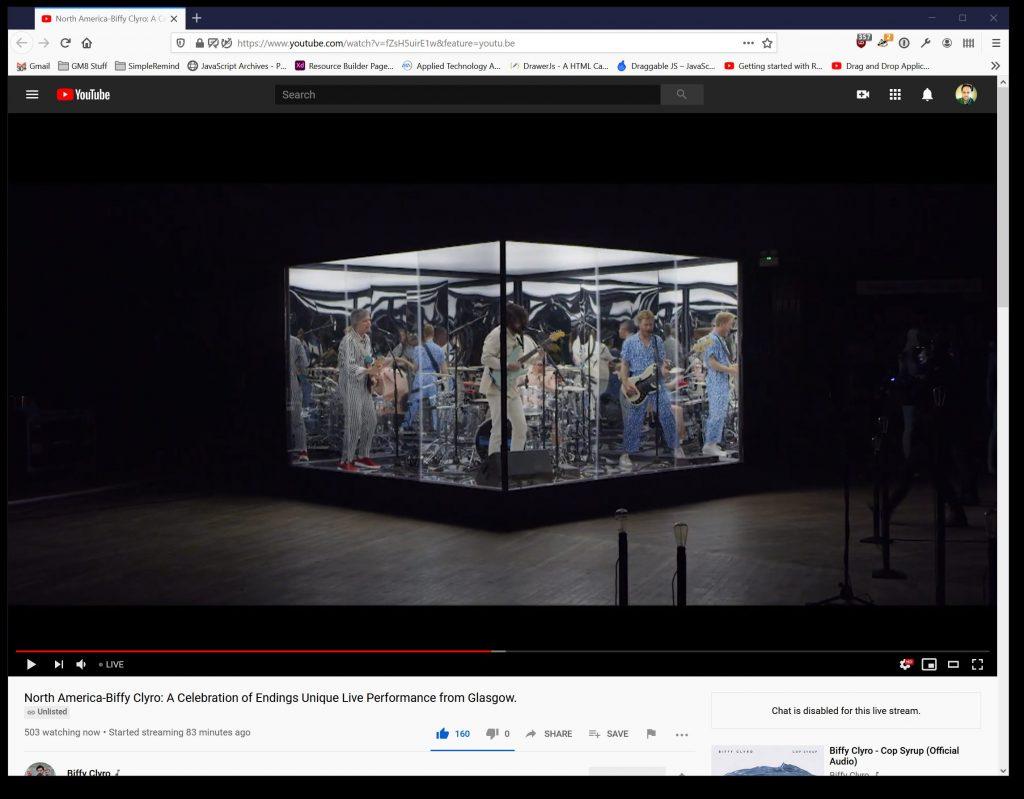 screenshot of a YouTube video